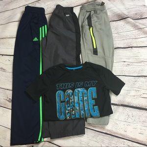 Boys size 10/12 athletic pants / shirt bundle